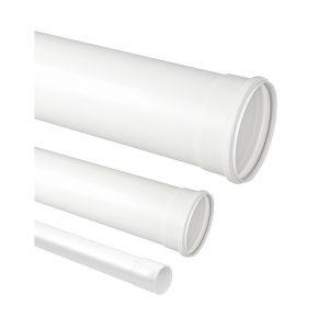 TUBO PVC ESGOTO 100 MM METRO