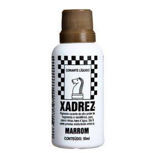 CORANTE XADREZ - MARRON