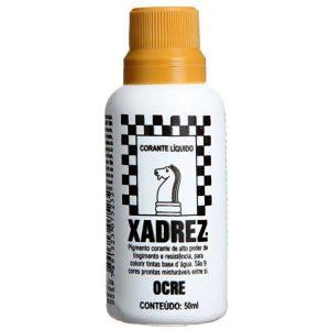 CORANTE XADREZ - OCRE