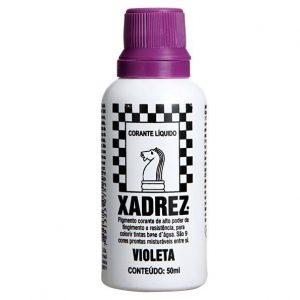 CORANTE XADREZ - LILAS