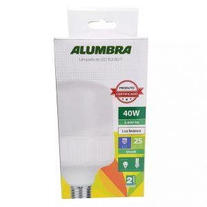 LAMPADA BULBO LED 40W E-27 ALUMBRA