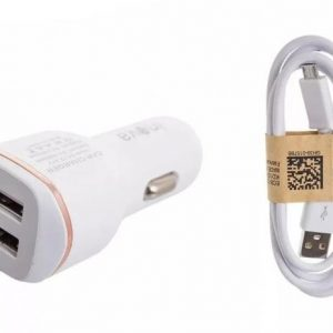 CARREGADOR VEICULAR 2 ENT USB 2.1A