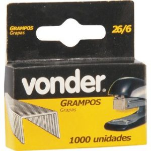 GRAMPO 6MM CX C/1000 VONDER