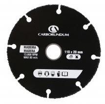 DISCO CORTE 110 MADEIRA CARBORUNDUM